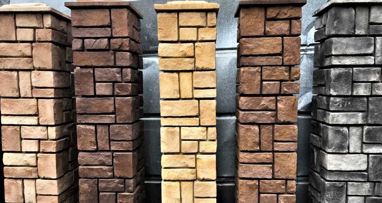 Изготовление декоративных заборных блоков в Орске